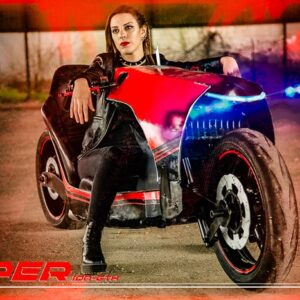 Hyper ION-GTX motorcycle concept - Jane spot 04 - by Soul Reaper Photography