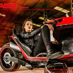 Hyper ION-GTX motorcycle concept - Jane spot 08 - by Soul Reaper Photography