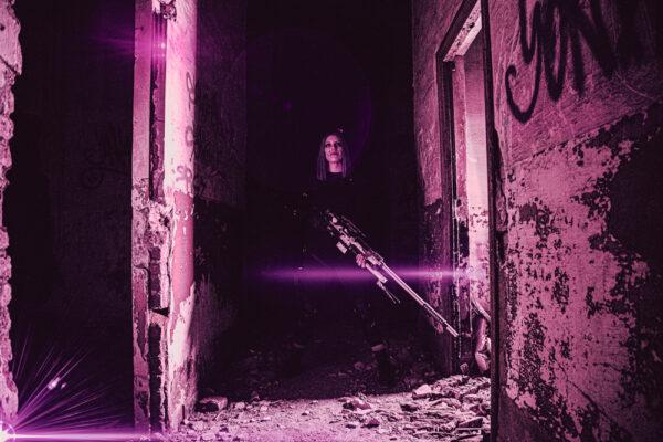 Long Distance Killer 04- Cyberpunk Art - By Soul Reaper