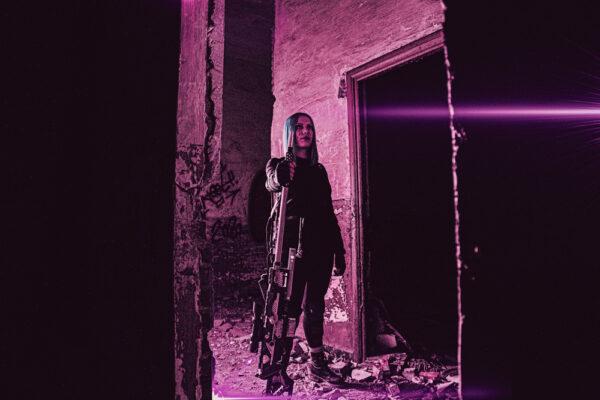 Long Distance Killer 03- Cyberpunk Art - By Soul Reaper