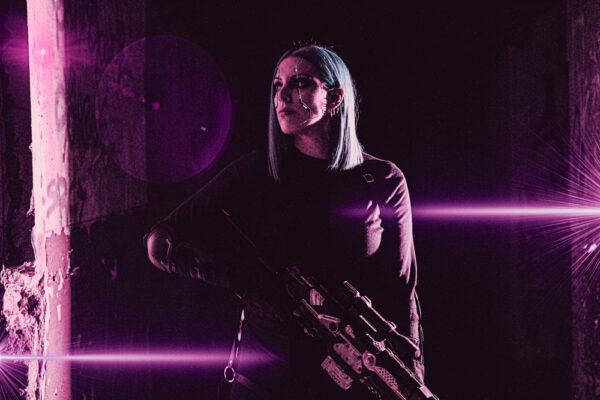 Long Distance Killer 06- Cyberpunk Art - By Soul Reaper