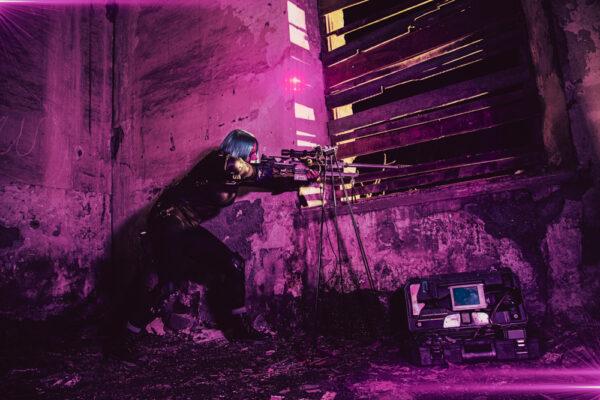 Long Distance Killer 07- Cyberpunk Art - By Soul Reaper