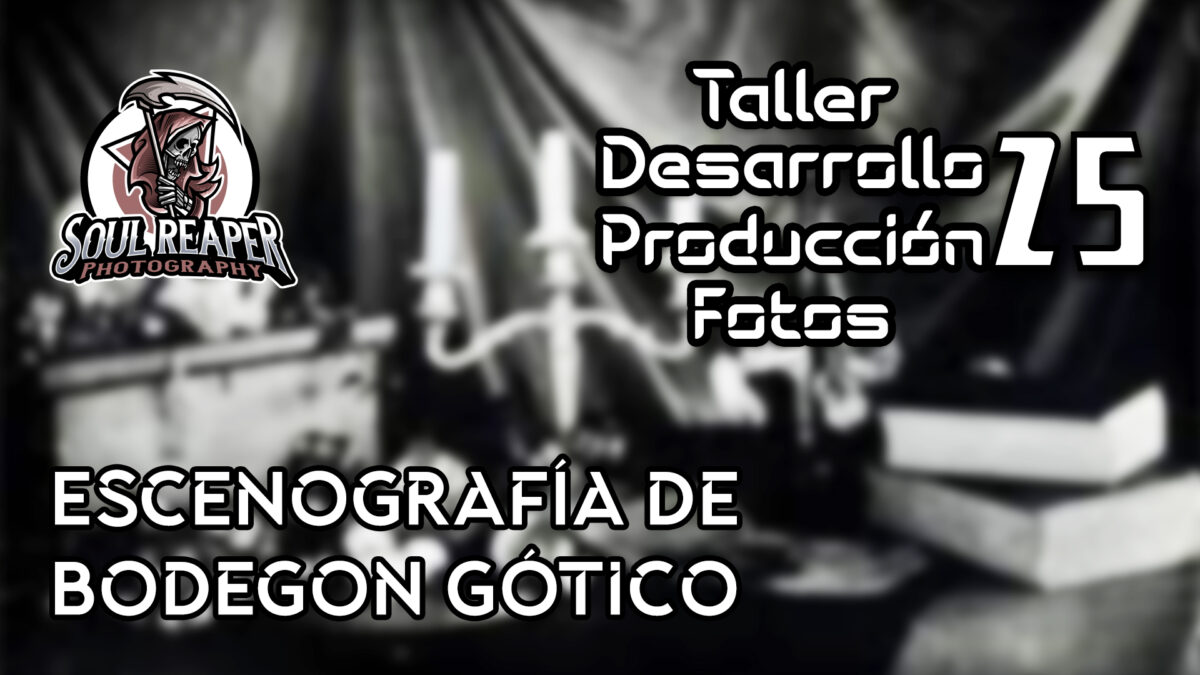 Escenografía de Bodegon Gótico   Soul Reaper Photography   TALLER   cap. 1x25