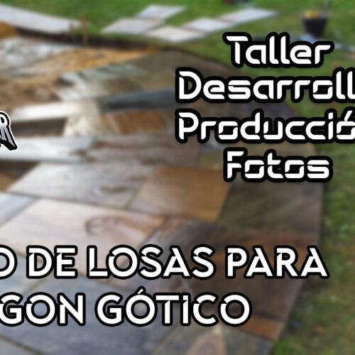 Suelo de losas para Bodegon Gótico | Soul Reaper Photography | TALLER | cap. 1x24