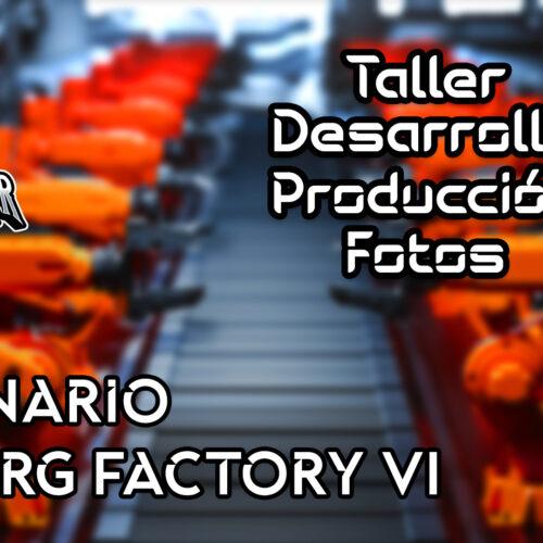 Creando escenario Cybog Factory VI | Soul Reaper Photography | TALLER 1x21