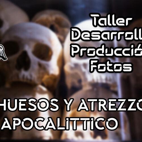 Mas huesos y atrezzo post apocalittico | TALLER | cap. 1x27